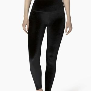 Beyond Yoga Velvet High-Waisted Midi Leggings